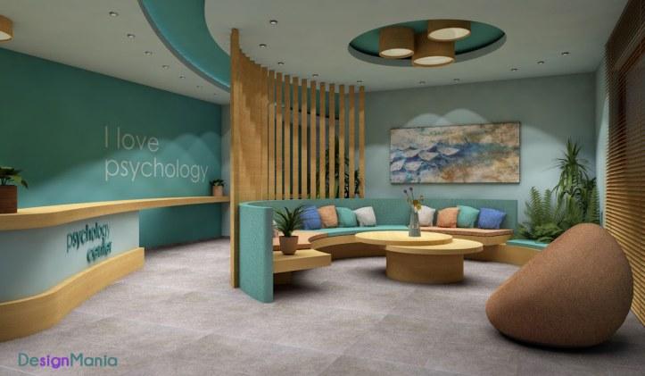 Χώρος αναμονής κέντρου ψυχικής υγείας_DesignMania
