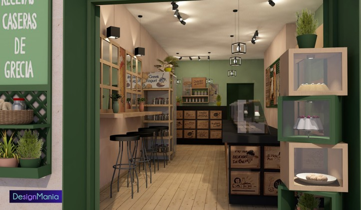 Bakery and Pastry shop in Barcelona_DesignMania